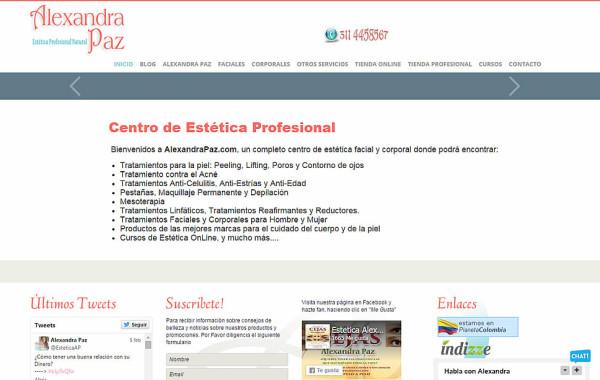Centro de Estética Alexandra Paz